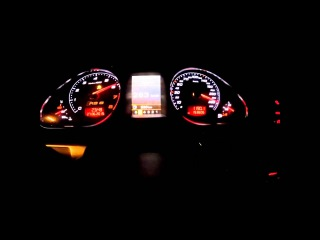 Epic Audi RS6 C6 0-350 km/h acceleration test