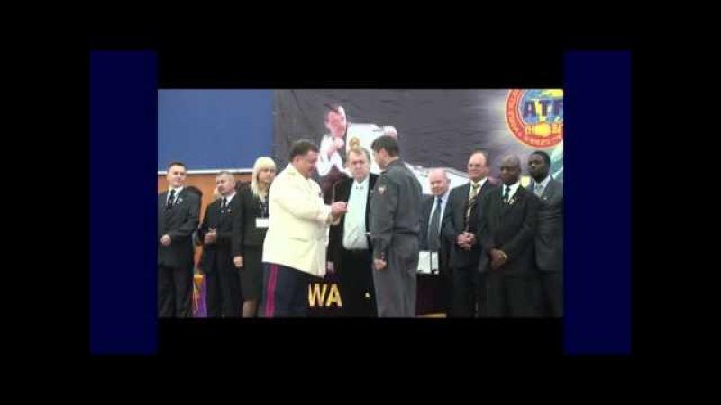 Одна из страниц истории развития Тэквон-До (IATF) в России. Россия-Конго часть3
