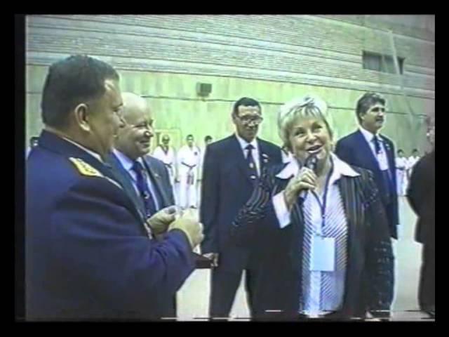 Открытие Чемпионата России по Тэквон-До (IATF) г. Москва 2006