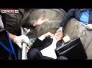 Político Ucraniano é jogado na lata de lixo