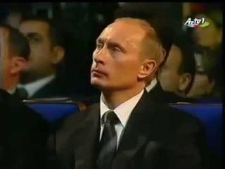 Музыкальный крик детской души Карабах шикестеси слушают Владимир Путин и Ильхам Алиев.