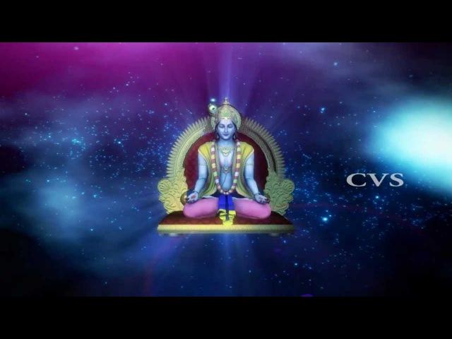 Beautiful Sri Krishna Dhun Krishnashtakam 3D Animation Devotioanl bhajan songs смотреть онлайн без регистрации