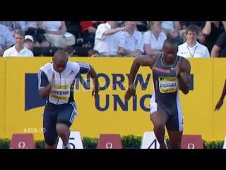 Another Athletics-Asafa Powell BIG BULGE