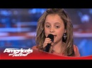 Chloe Channell - Wows With Cover of Carrie Underwood's American Girl - America's Got Talent 2013