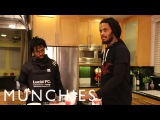 How To Make Vegan Blueberry Muffins with Waka Flocka Flame &amp Raury