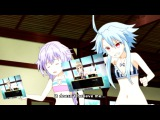 Hyperdimension Neptunia The Animation - Are you 18 years or older (Blanc's rage Part 2)