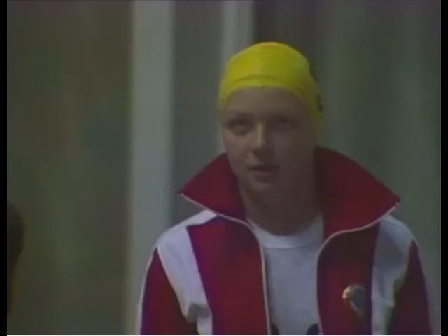 Олимпиада 1980. Плавание. Женщины 100 м Брасс. Финал