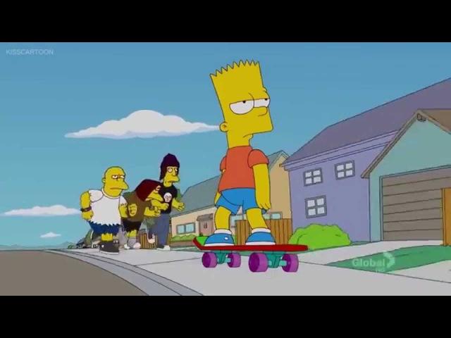 Boring life. Bart Simpson