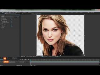 Эффект появления фотографии через краску акварельную в After Effects - AEplug 117