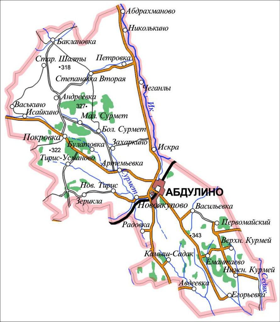Абдулинский район