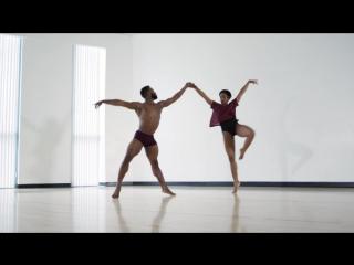 Незабываемый балетный дуэт под песню Адель «All I Ask»