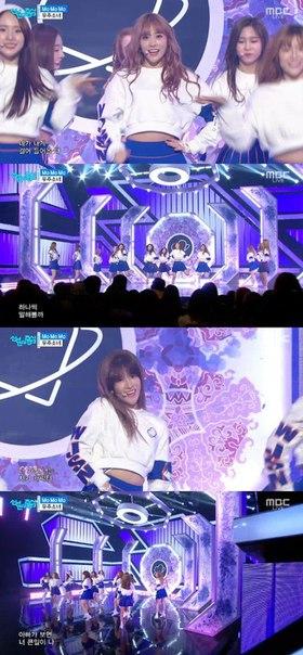 """Cosmic Girls на """"Music Core"""", корейско-китайская девичья группа"""