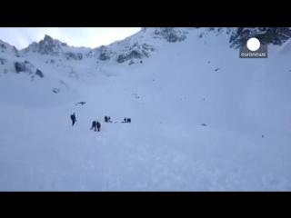 Пять лыжников погибли в австрийских Альпах