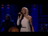 Гвен Стефани  Gwen Stefani Used to Love You - The Tonight Show 03 12 2015 Нью-Йорк  США.