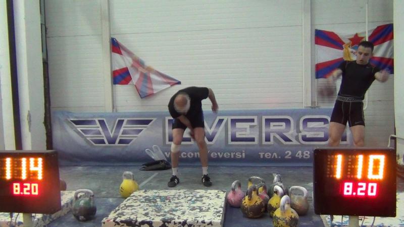 Филимонов Максим финиш рывок 32 кг до 68 кг Чемпионат Новосибирской области