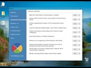 FixWin10 устраняет проблемы и ошибки Windows 10