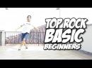Bboy Tutorial I Basic Top Rock for Beginners I