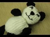 Loom Knit Panda Bear!