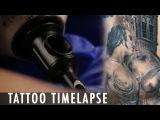 Tattoo Timelapse - Megan Jean Morris &amp Anam Qureshi