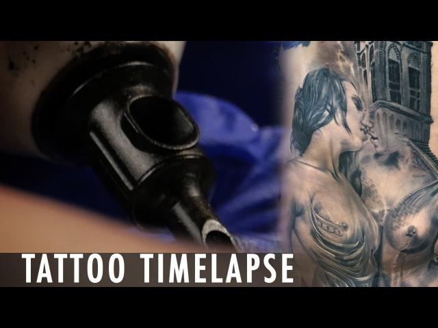 Tattoo Timelapse - Megan Jean Morris Anam Qureshi