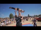Fenomen-A Настя заход рондат сальто с винтом Пляжный ШОУ Чемпионат