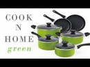 Perfect green cookware, Cook N Home NC 00398 10 Piece Nonstick Coating Cookware Set