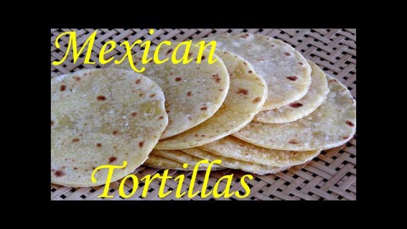 Bánh tráng bột ngô Tortillas bánh bột bắp vàng tortilla recipe Món ngon đặc sản Mexico [LUDA NẤU ĂN]