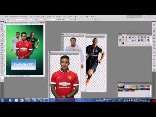 Как сделать аватарку в группу вконтакте на футбольную тематику.