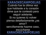 Banda XXI - Escuchame (karaoke)