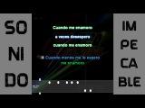 Banda XXI - Cuando me enamoro (karaoke)