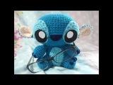 Стич амигуруми.Stitch.Игрушка стич.Стич своими руками.TOY Stitch.Стич крючком.