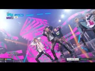 [video] 160611 #exo lucky one+monster @ mbc show! music core
