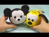 Игрушки диснеевских героев из простых материаловDIY Disney Tsum Tsum Plushies - Mickey Mouse, Donald Duck, Goofy Pluto (for Swe