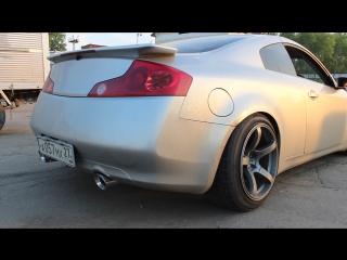 Nissan skyline 350gt/ cat-back exhaust system by WELDone
