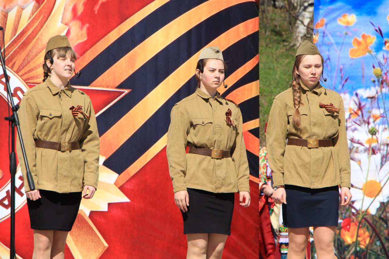 Празднование Дня Победы в с. Кослан