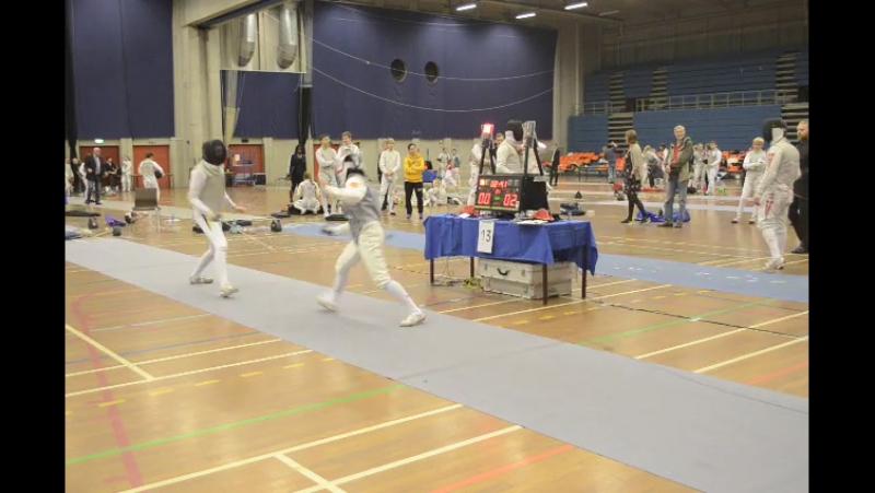 Против Линэ ёнссон, северные соревнования 2015
