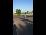 Летние уличные тренировки на коньках