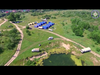 Учения. Новое озеро Кисловодск.