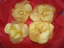 РОЗА из картофеля rose