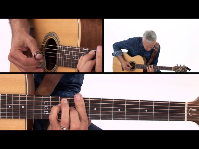 Tommy Emmanuel Guitar Lesson - Boomchick Inversions Demo