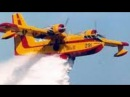 CL 415 Water Bomber in Action