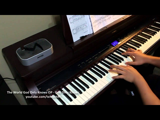 The World God Only Knows God Only Knows Piano Transcription