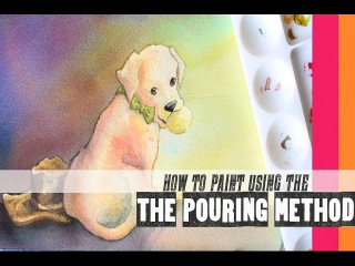 Watercolor Pouring Method