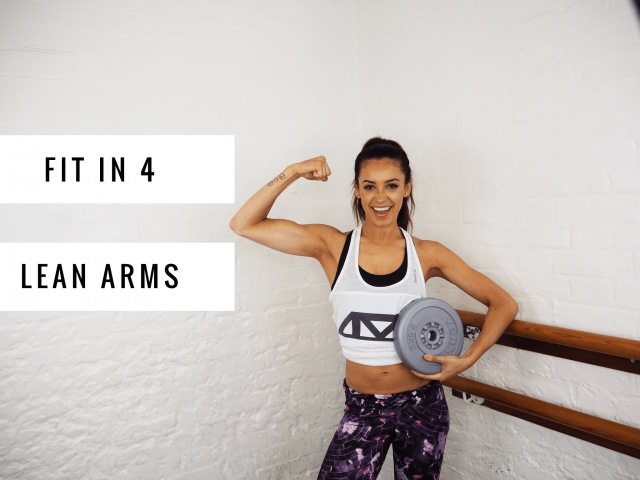 SIMPLE WAYS TO GET SLIM TONED ARMS | Danielle Peazer