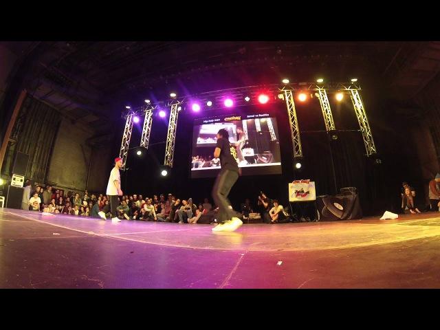 Jamal vs Rochka | hip hop 1x1 man | FINAL | ENERGY 15 ANNIVERSARY | CHELYABINSK | DAY 3 | 06 12 15