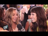 "Mackenzie Ziegler Calls Sister Maddie ""Inspirational"" (TEEN CHOICE AWARDS 2016)"