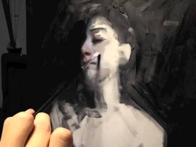 Henrik Uldalen - Portrait painting