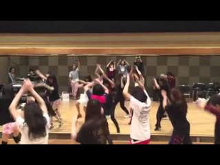 【NMB48ダンス選抜】Must be now レッスン映像 【山本彩】【男性vo.ver】