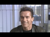 Flashback Arnold Schwarzenegger Compares ET to the Terminator on the Set of 'Terminator 2'