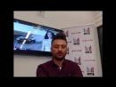 Видеочат со звездой на МУЗ-ТВ- Сергей Лазарев 20 .10. 2014 г.